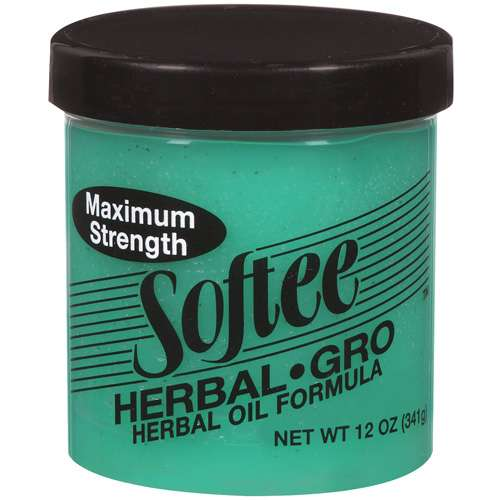 Softee Protein Styling Gel On Natural Hair